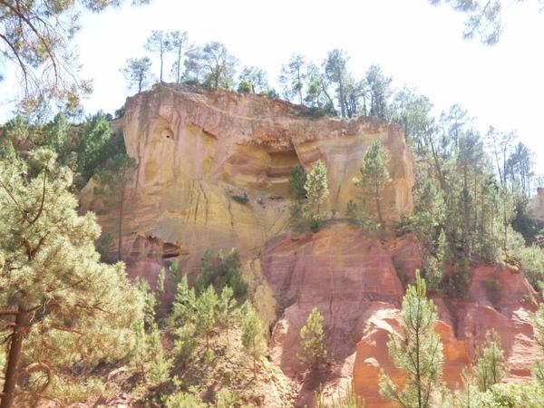 Sentier des ocres de Roussillon