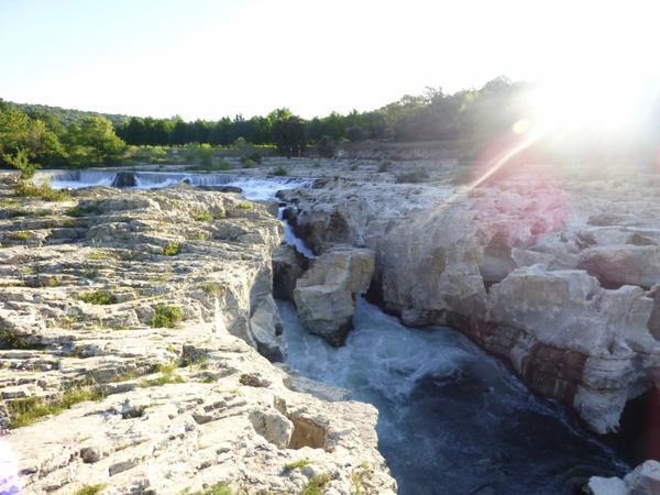 Les cascades du sautadet, Mai 2017