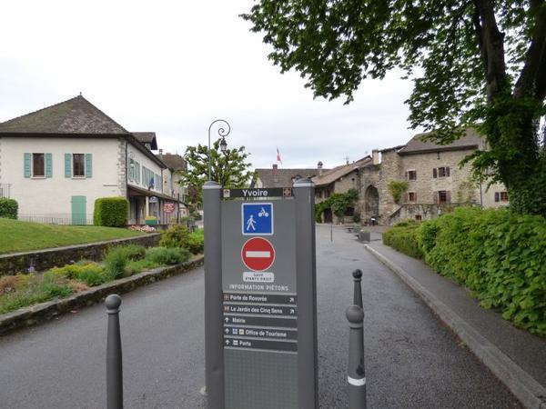 Village d'Yvoire, Mai 2017)