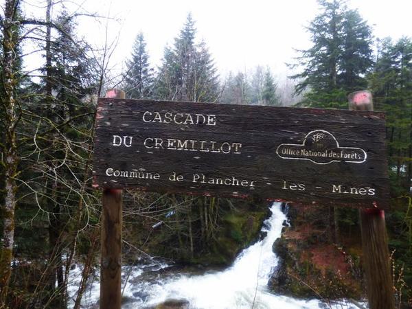 Cascade du gremillot, mars 2017