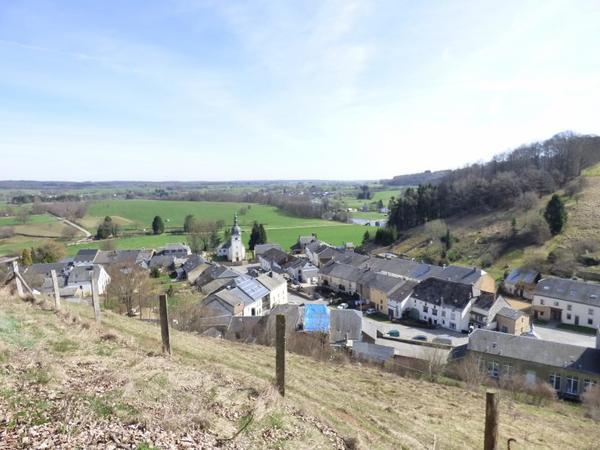 Balade en Belgique, mars 2017 : Point de vue sur Herbaumont