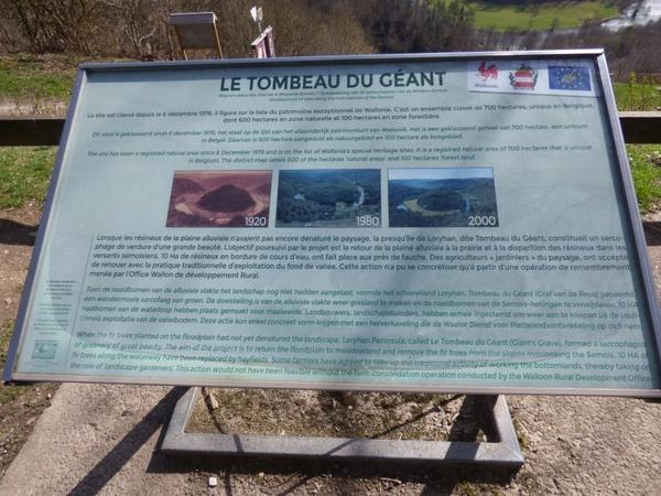 Balade en Belgique, mars 2017 : Batossart, caveau du géant