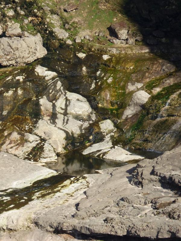 Cascade de Charabotte , Mars 2017