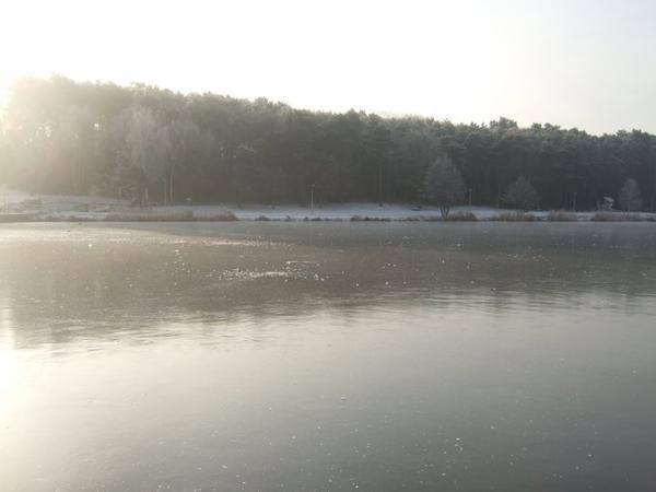 Lac de Creutzwald, Décembre 2007