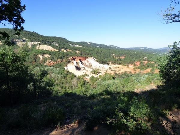 Colorado Provençal de Rustrel, Juin 2017