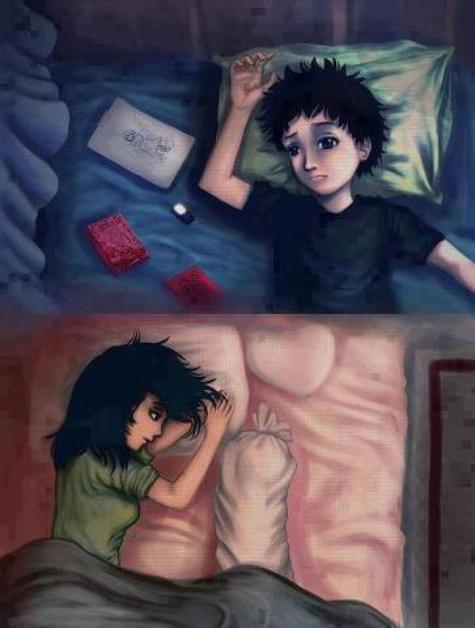 J'aimerais juste être avec toi la, tu me manques tellement ♥.