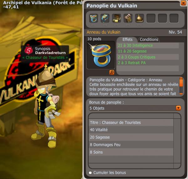 Objectifs Vulkania