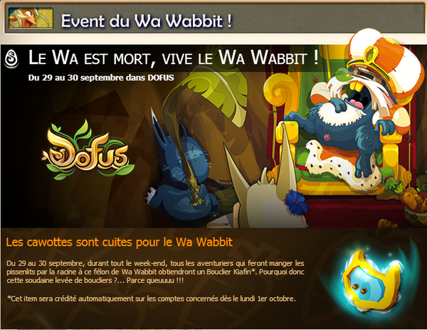 Event Wa Wabbit