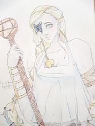 Eldarya -ma VDD +Aolie en mode eldarya (par moi pour le coup xD )
