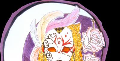Un masque, des roses et la lune...