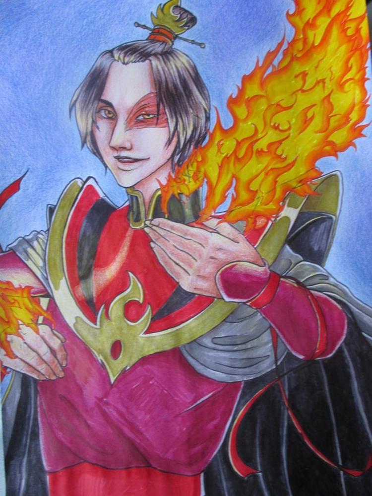 Fanart Avatar (Seigneur de feu Zuko)