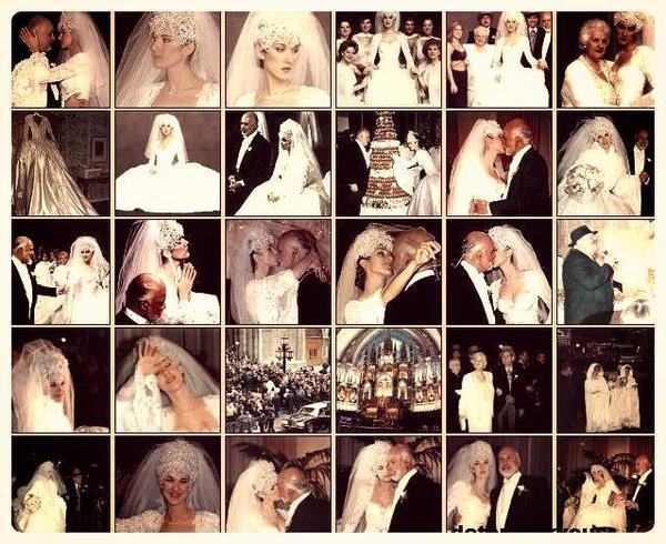 Le 17-12-1994 ...Céline et René 18 ans de mariage <3