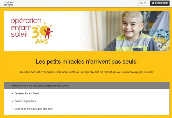 Message de Céline Dion au 30 ème téléthon opération enfants soleil