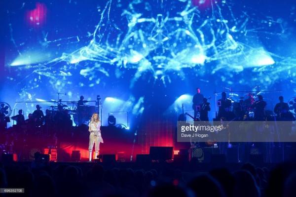 Céline Dion à Copenhague le 15/06/17
