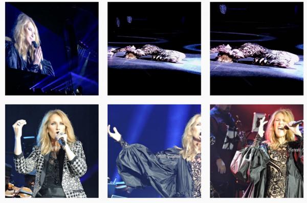 Celine hier soir le 29/06 à Bordeaux même sous la pluie elle a fait briller les yeux et les c½urs  !!!