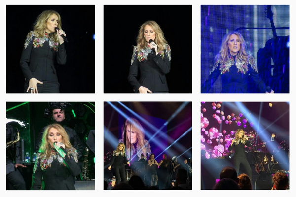 Quelques photos de Céline hier soir le 1er Juillet à Lille