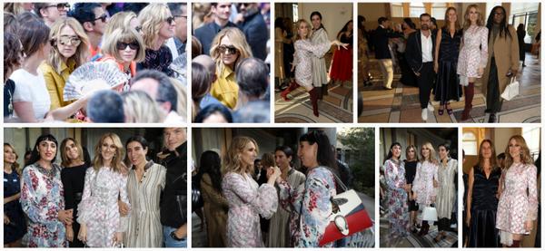 Puis Céline Dion est aller au défilé haute couture du génie Giambattista Valli ❤️ Le 03/07/17