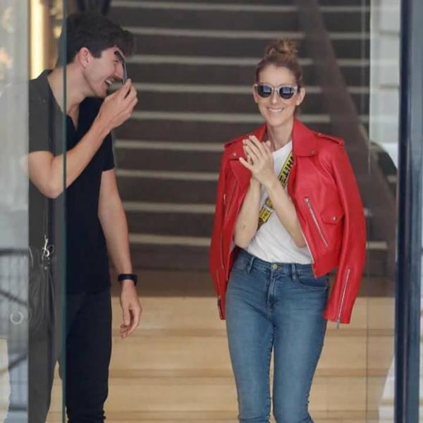 Céline Dion visite Paris et fait du shopping ... Le 13/07/17