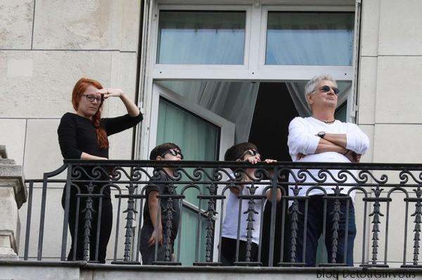 J'espère que Céline, RC, Nelson et  Eddy sont à Paris aujourd hui pour voir notre formidable défilé du 14 juillet (sur nos Champs Elysées, dans le ciel de Paris)