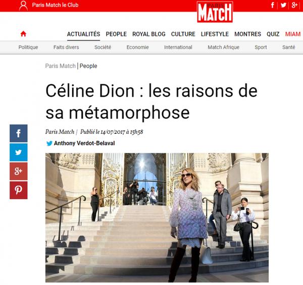 Depuis un an, Céline Dion a beaucoup changé. Elle a souhaité modifier son image pour son fils, René-Charles.