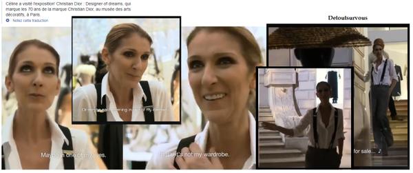 Le 16/07/17 Céline part de son hotel le 17/07 et à 1h du mat la voila qui revient et qui fait encore et tjs des photos et des autographes ! :) Elle a visiter une expo  de Dior