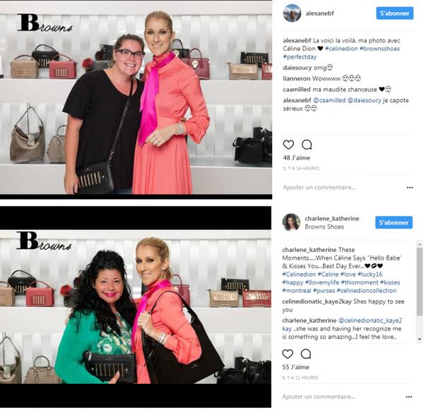 Magnifiques photos de Céline avec Estevam Peric ou de Céline avec Vanessa Fournier prisent le 23 août et bien sur bp d'autres fans ...