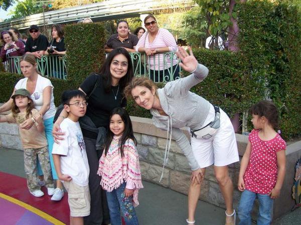 Céline et des jeunes fans ;)