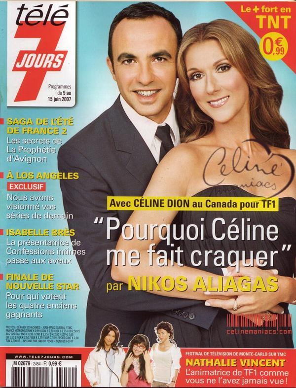 """""""Télé 7 Jours""""""""  4 juin, 2007"""