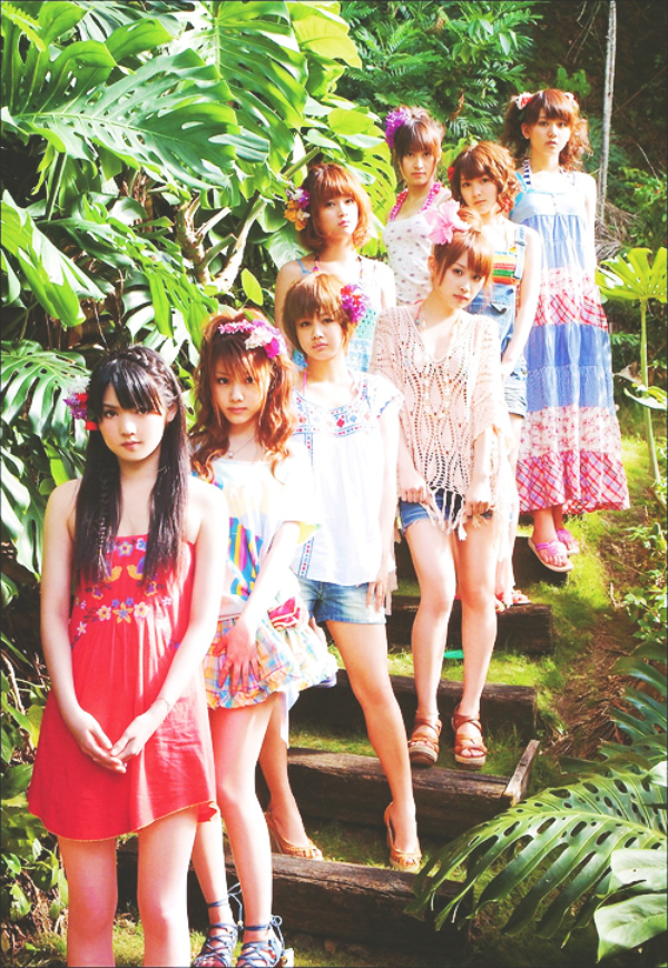 Morning Musume - One-Two-Three Color Coded + Wallpapers !