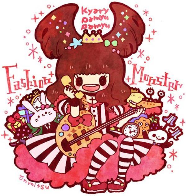 Kyary Pamyu Pamyu (Candy candy, Ninjari Bang bang, Fashion Monster, Tsukema tsukeru )