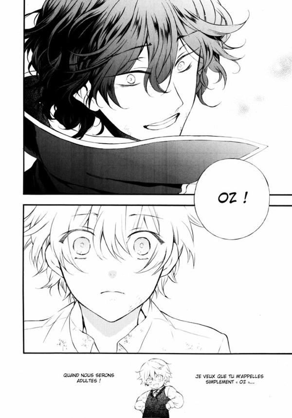 Quelques pages de .....  attention.... Pandora Hearts ! La suite !