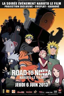 Naruto Shippuden - Road to Ninja au ciné le 6 juin 2013 en Vostfr