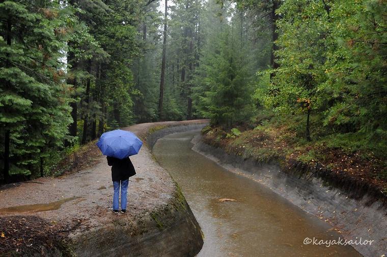 ..Mal grès la pluie, il faut savoir avancer..