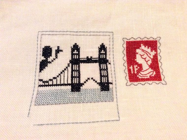 Londres : Suite de mon avancée ...
