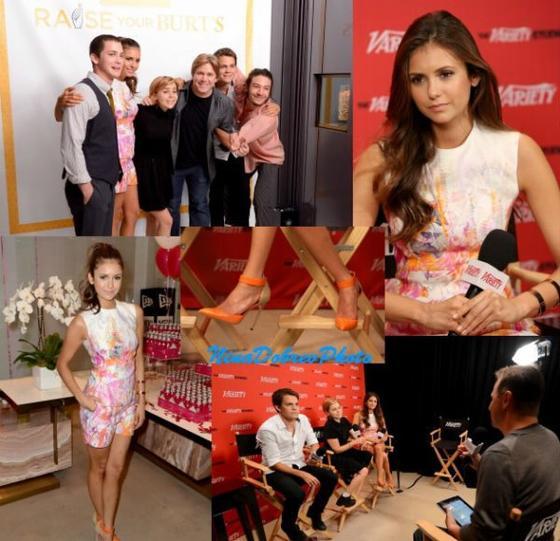 Nina au Variety Studio Présenté Par MOROCCANOIL