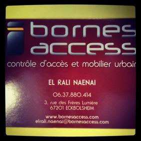 El Rali, 26 ans, vente et installation de bornes et barrières à Strasbourg