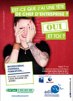 Du 8 au 12 octobre 2012, l'Adie va à la rencontre des Jeunes partout en France !