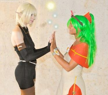 _A partir de maintenant je suis ton amie Amalia et c'est tout !!! _Je te promet, de vous tutoyer...