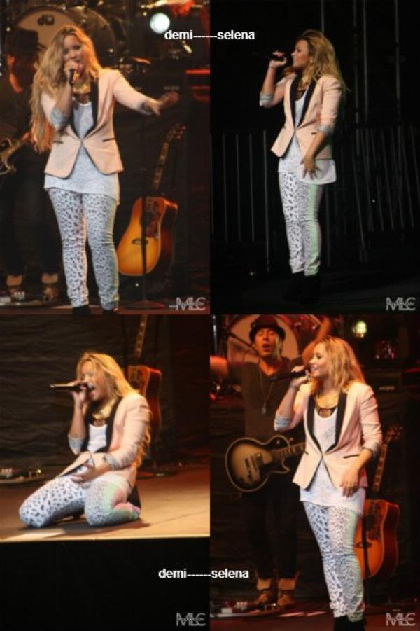 Demi Lovato: concert à San Diego le 12 juin