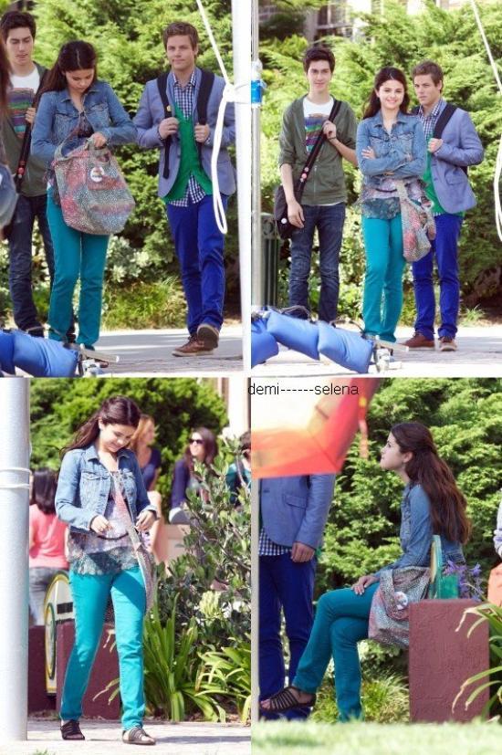 """Selena Gomez: sur le tournage de son nouveau film """"Parental Guidance""""    le 3 Août"""