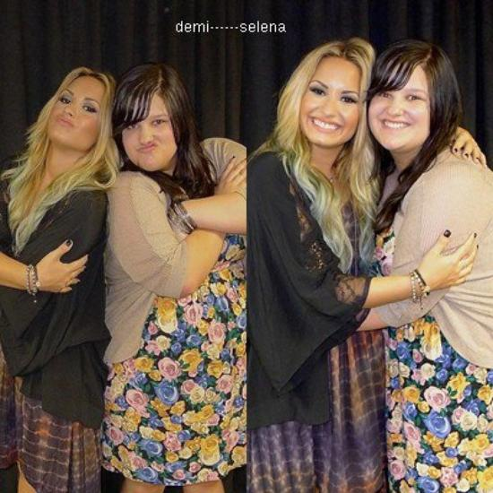 Demi Lovato: photo avec des fans à Chicago