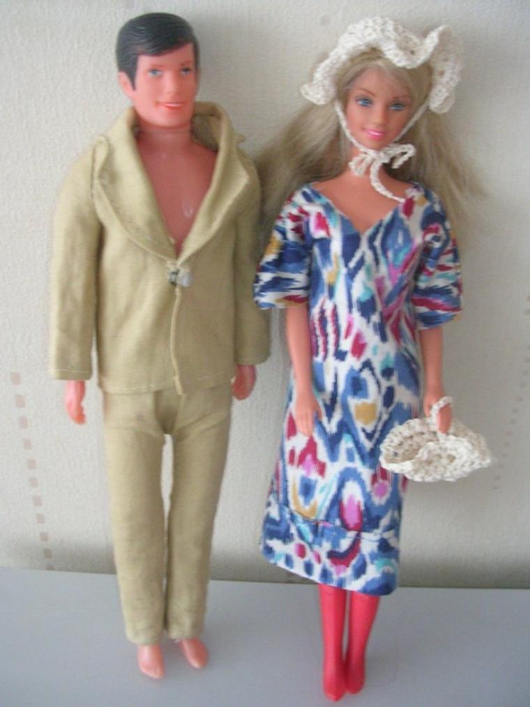 Barbie et son fiancé