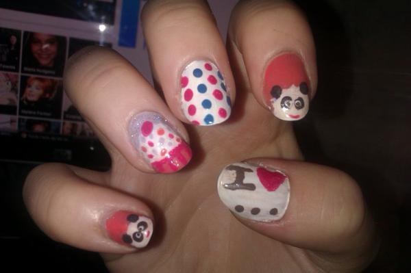 Mon premier Nail Art :)