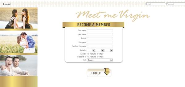 LE SITE DU JOUR : Découvrez le premier site exclusivement réservé aux personnes vierges