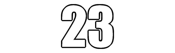 LE CHIFFRE DU JOUR : 23