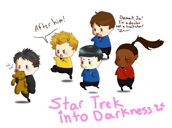 Star Trek so cute