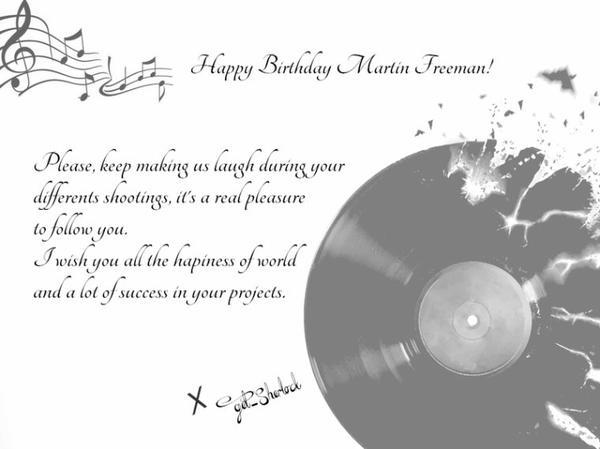 Happy Birthday Freeman !