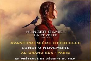 #EDIT GOOD NEWS Hunger Games La Révolte Part 2 aura son avant première à Paris ! Les pré-réservations débutes à 18 h