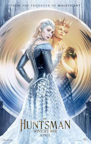 #NEWS Le Chasseur et La Reine des Glaces, 2 nouveaux posters #EDIT ajout de la BA