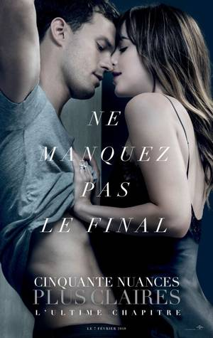 NEWS !! #FiftyShadesFreed bande annonce finale et nouveau poster.